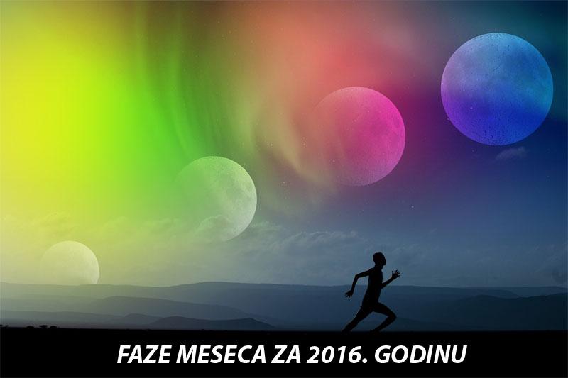 Faze meseca za 2015. godinu