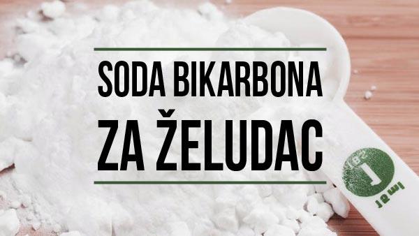 soda bikarbona za želudac